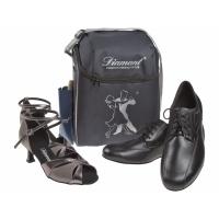 Diamant HW03984 danstas voor 2 paar dansschoenen en accessoires