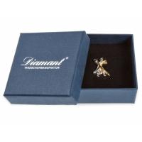Diamant Broche van Dansend Paar HW07972 Verpakking